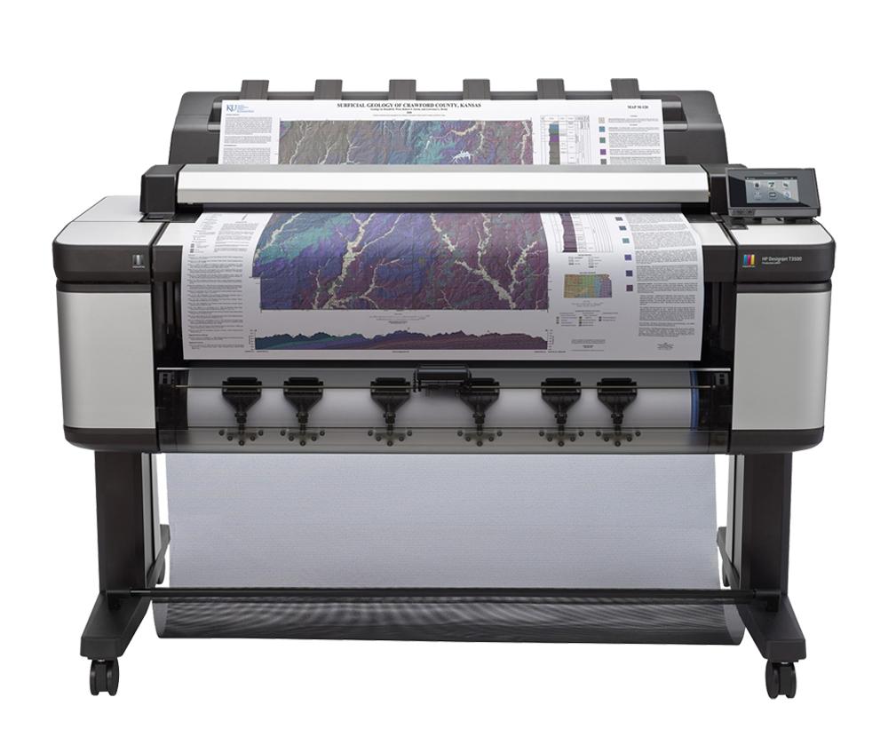 HP Plotter T3500